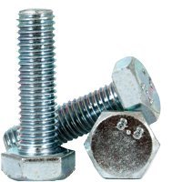 M8-1.25x180 MM,(PT) Metric Steel Class 8.8 ZINC CR+3 HEX Head Bolt/Screw, DIN 931, Size: M8-1.25 | Length: 180mm | | Partially Threaded (25, JB815523C-25)