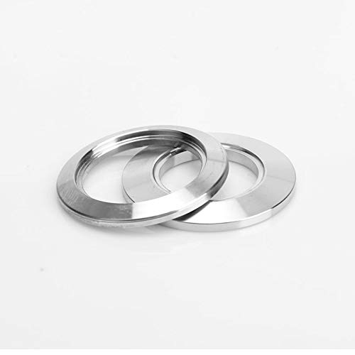 OD 38 x Clamp 50.5 2pc 1//2 to 3 Sanitary Stainless Steel 304 Ferrule Tri Clamp End Cap