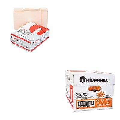KITUNV16113UNV21200 - Value Kit - Universal File Folders (UNV16113) and Universal Copy Paper (UNV21200)