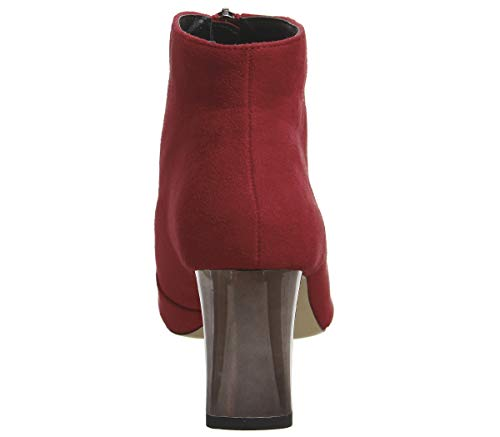 Office Front Boots Zip Ashe Red YOY8Pq