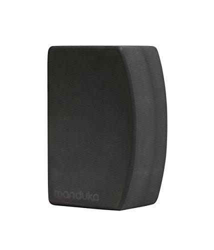 Manduka unBLOK High Density Recycled EVA Foam Yoga Block – Ergonomic Support for Stability, Comfort and Balance in Any Yoga Pose ()