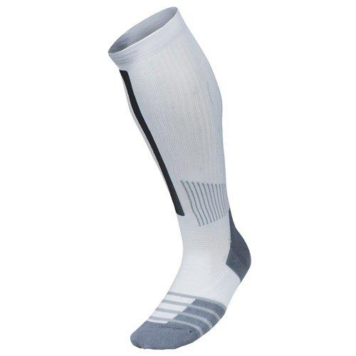 Nike Mens Elite High-intensity Over-the-calf Training Socks White, Large (8-12)