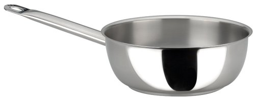 Sitram Profiserie 3.4-Quart Commercial Stainless Steel Chef's Pan by Sitram