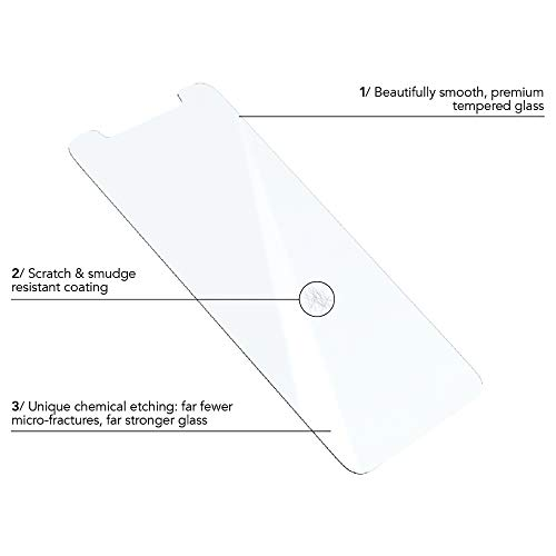 premium selection 6ee43 c55ae Tech21 Evo Glass Iphone X – Screen Protector (Screen Protector, Apple,  iPhone X, Scratch Resistant, 1 pc (S))