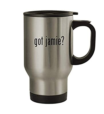 got jamie? - 14oz Sturdy Stainless Steel Travel Mug