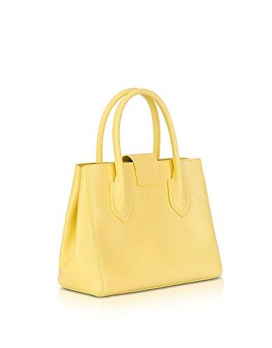 Furla Damen 921176 Gelb Leder Handtaschen