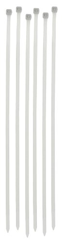Darice Locking Cable Ties, 12-Inch, Clear