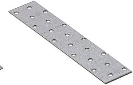 10pcs. Acier Plat pour vêtements réparation connecteur Raccord de plaque 160mm x 40mm