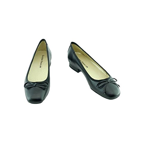 Escarpins nero Ballerine d'Hotesses Squirel Nero Hostess P rrSwq6