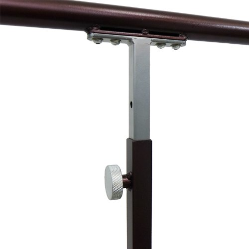 """Softtouch Ballet Barre 5.5ft Portable Dance Bar - Adjustable Height 31"""" - 49"""" - Freestanding Stretch Barre 66"""""""