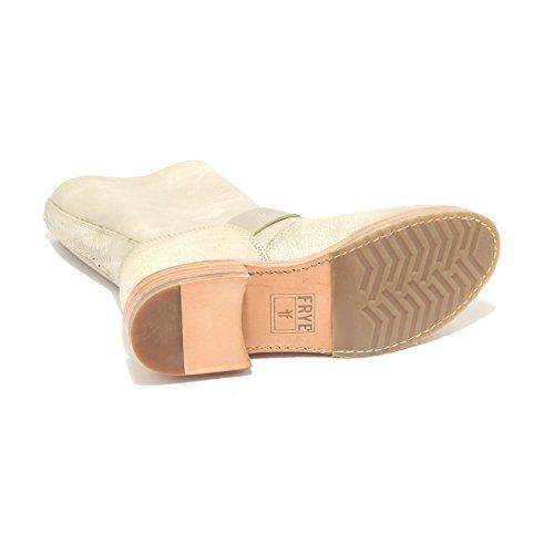 3797L stivali donna FRYE veronica shortie scarpe boots shoes women beige/tortora