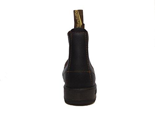 BLUNDSTONE 500 stivaletto elastici boot chelsea PELLE STOUT BROWN 43,5