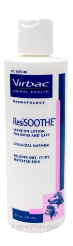 ResiSOOTHE Leave-On Lotion For Dogs, Cats and Horses, 8 oz., My Pet Supplies