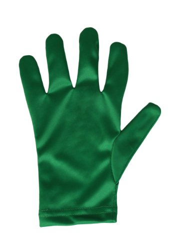 FunCostumes Child Green Gloves (Child Green Gloves)