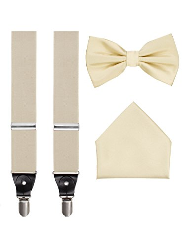 Suspenders Bow Tie Pocket Hanky product image