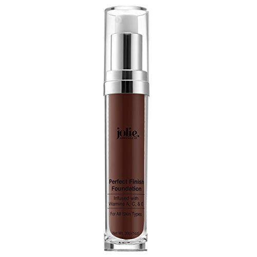 Jolie Perfect Finish Liquid Foundation Makeup SPF 15 Oil Free (DC3) (Bisque Liquid Minerals Foundation)