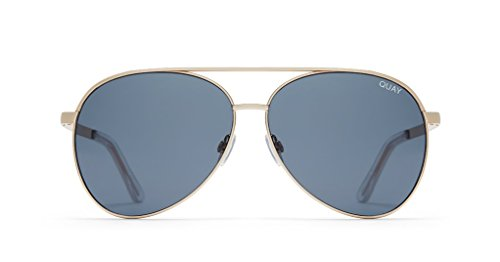 Quay Australia Vivienne Aviator Sunglasses in - Quay Vivienne