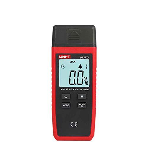Loria UNI-T UT377A Digital Wood Moisture Meter Paper Wooden Materials Humidity Tester LCD Display Hygrometer