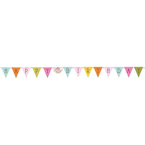 Party Happy Birthday Ribbon Banner