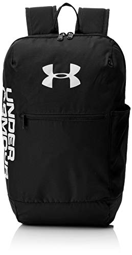Under Armour Unisex's Patterson Sports Backpack Bag with Storage Slot for Laptops and Tablets, Black/White (001), One Size (Best Laptop Brands Uk)