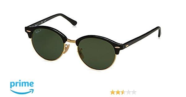 4f8e8b77cf Amazon.com  Ray-Ban Clubround Polarized Round Sunglasses