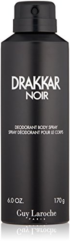 multipurpose Guy Laroche Drakkar Noir Deodorant Body Spray, 6.0 Oz