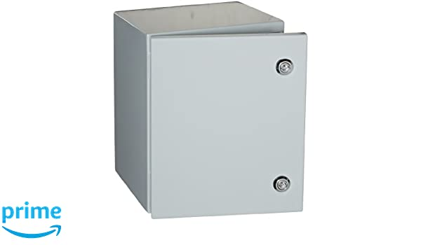BUD Industries Series SNB Steel NEMA 4 Sheet Metal Box with Mounting Bracket 10