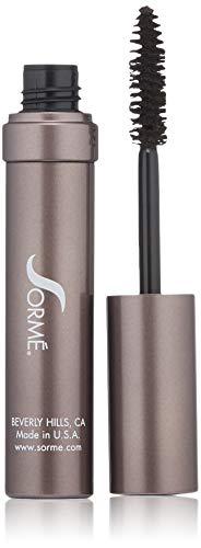 Sorme Cosmetics Ultra Lash Water Resistant Mascara, Dark Brown, 0.32 Ounce - Sorme Ultra Lash Mascara