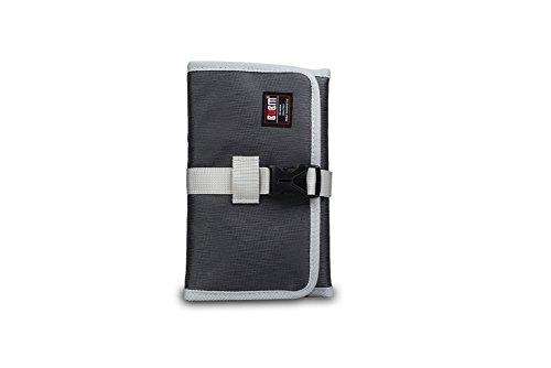 Waterproof Lines Nylon Cosmetic Bag Travel Wash Pocket - 5