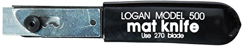 Logan 500 Model Mat Knife For Framing and Matting-Professional or At-Home Framing - Edge Mat Cutter