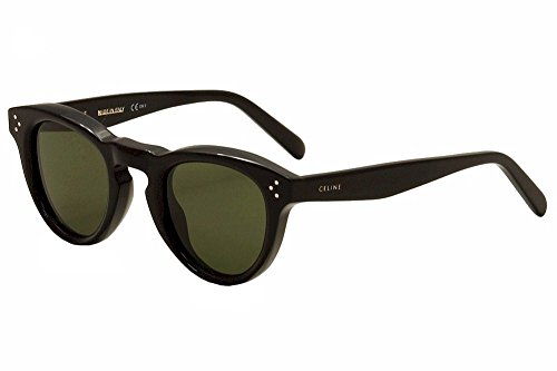 Celine 41372/S 807 Black 41372S Round Sunglasses Lens Category 3 Size 45mm by CEL