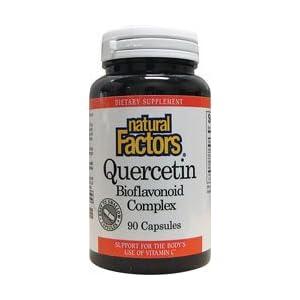Natural Factors Quercetin Bioflavonoid Complex 90 Capsules