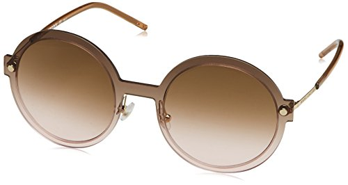Marc Jacobs Womens MARC29S Round Sunglasses, Gold/Brown Pink Gradient, 54 - Round Marc Jacobs Sunglasses