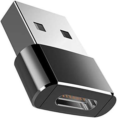 Shangjunol Para USB Macho Tipo C Mini Hembra Adaptador USB del Ordenador portátil, un Enchufe para USB-c convertidor de Puerto portátil: Amazon.es: Hogar