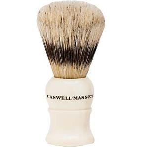 Caswell-Massey Standard Shaving Brush - Pure Badger Hair Shave Brush With Faux Ivory Handle, Handmade In England ()