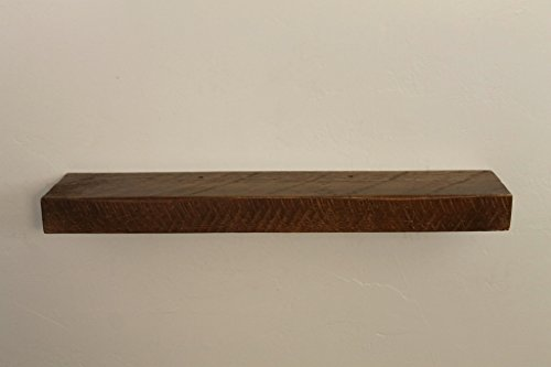 """30"""" X 6"""" X 2"""", Rustic, Floating Wood Shelf, Pine, Antique, Super Easy to Mount, Spice Rack"""