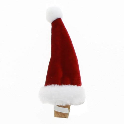 (Ganz Santa Hat Wine Bottle Stopper)