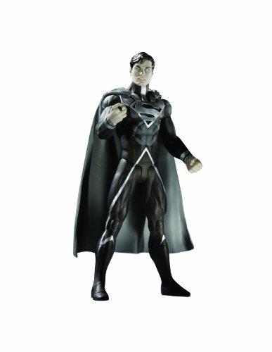 Dc Direct Green Lantern Ring - DC Direct Blackest Night: Series 7: Black Lantern Superman Action Figure