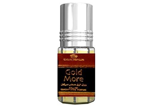 Gold More al Rehab 3ML PROFUMO in olio di alta qualità orientalisch arabo Oud misk Musk