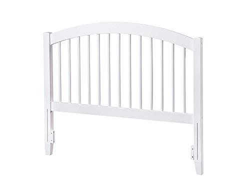 Atlantic Furniture AR294842 Windsor Headboard, Queen, White ()