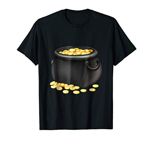 Pot Of Gold Costume TShirt Halloween Parties]()