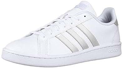 adidas Womens Grand Court White Size: 6 US