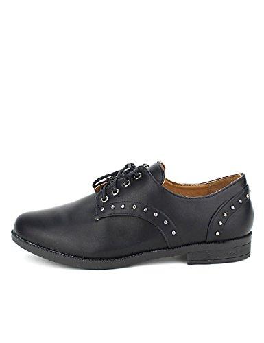 Chaussures Femme Cendriyon Moda Derbies Noires CINKS XPxqXIUYw