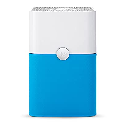 Blue Pure 211+ Air Purifier with Particle and Carbon Filter for Allergen and Odor Reduction, Washable Pre-Filter, Large Rooms, by Blueair
