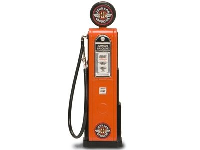 Replica Vintage Digital Gas Pump Johnson Gasoline 1/18 from Collectable Diecast
