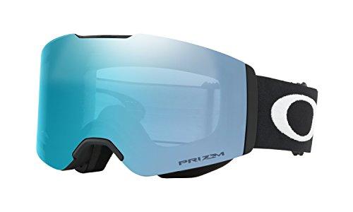 Oakley Fall Line Prizm Snow Goggles Matte Black with Prizm Sapphire Iridum - Goggles Rimless