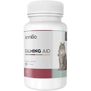 Animigo Ayuda Calmante para Gatos 60 Comprimidos Masticables Relajantes