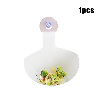 Ambility Foldable Filter Simple Sink Kitchen Self-Standing Drain Sink Anti-Blocking Filter Strainer Simple Sink Filter Foldable Kitchen Sink Strainer Drain Protector