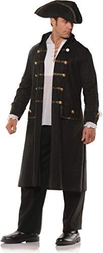 Pirate Coat Set Black -