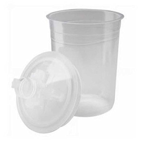 3M PPS Paint Lids & Liners Total of 10 Lids & 10 Liners Standard Size. 3M16000 by 3M (Image #1)